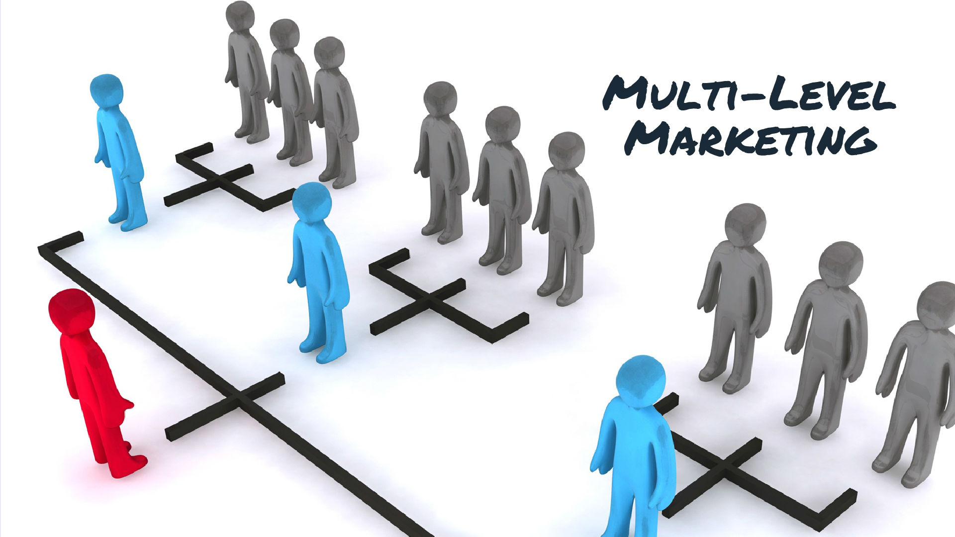 the multi level marketing Another p— sorry, multi-level marketing scheme convincing people they'll get rich by flogging — what is it this time protein powder.