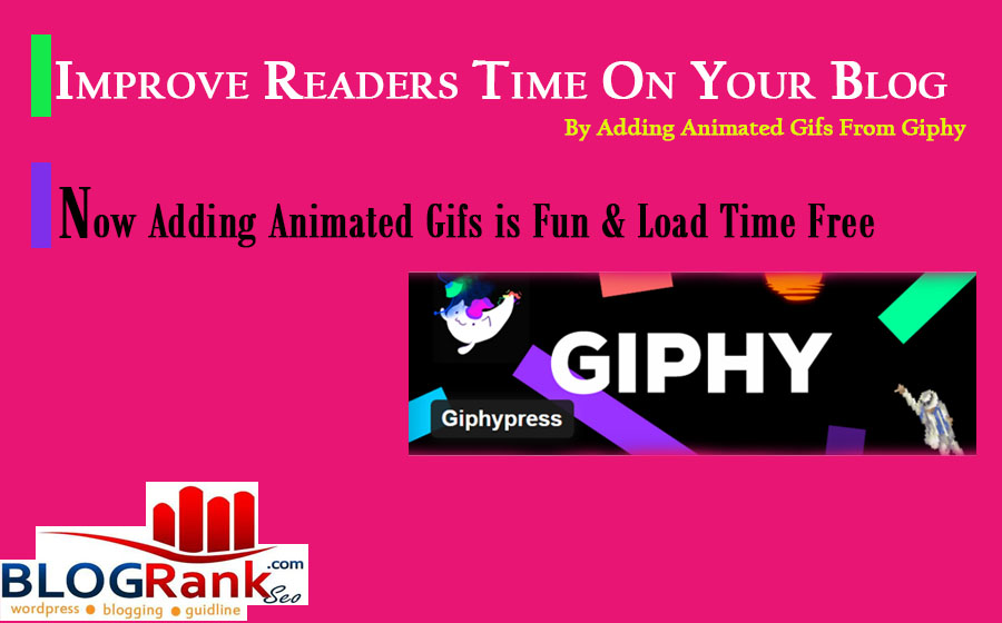 how to add animated gifs in the wordpress from giphy by