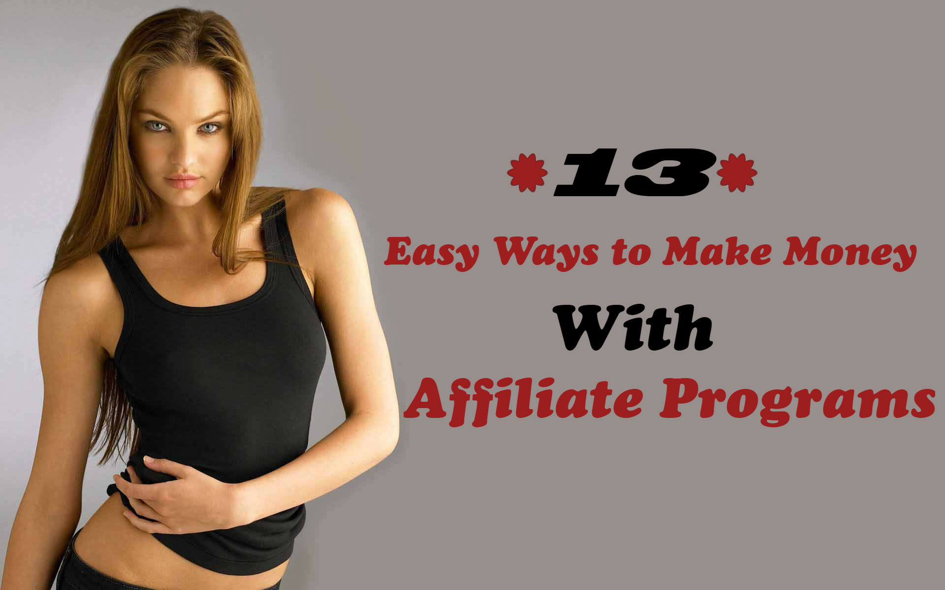 13 easy ways to make money with affiliate programs